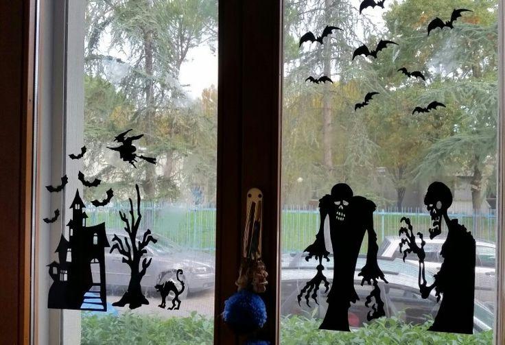 Decorazioni finestre  halloween