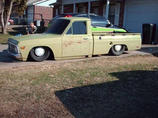 74年式 フォード クーリエ / '74 Ford Courier | Lowered, Slammed, Rat-style