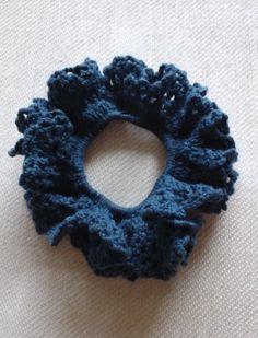 夏色シュシュの作り方|編み物|編み物・手芸・ソーイング|ハンドメイド・手芸レシピならアトリエ