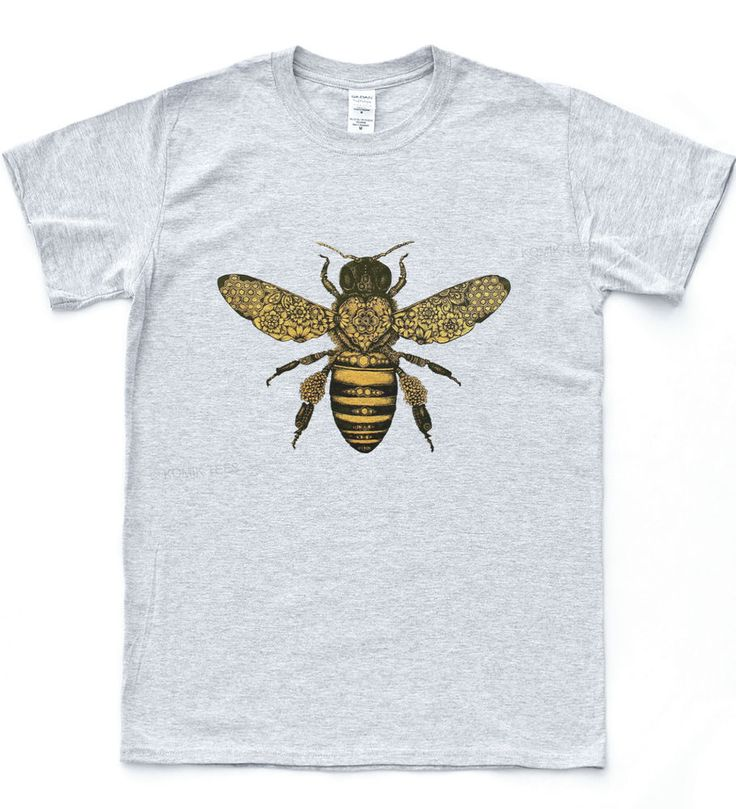 Bee Baroque T-shirt Moth Insect Tattoo Illustration Tee Indie Mod Hipster Top in Clothes, Shoes & Accessories, Men's Clothing, T-Shirts | eBay!