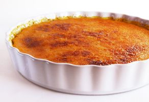 Creme Brulee Pie... Easy for a crowd and not a lot of cleanup!  :)