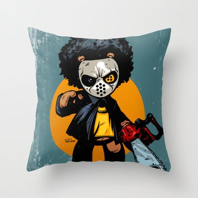 """Buy Bo: Plushy Gangsta """"Friday"""" by Plushygangsta as a high quality Throw Pillow. Worldwide shipping available at Society6.com. Just one of millions of…"""
