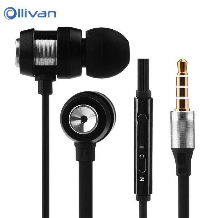OLLIVAN In Ear Stereo Earphone with Microphone for iPhone 6 6s Plus for Samsung galaxy s6 s7 note 7 for Xiaomi redmi pro phone
