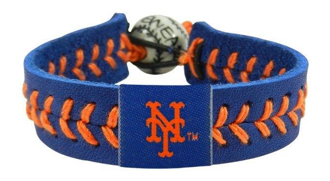 New York Mets Baseball Bracelet - Team Color Style Z157-7731400232