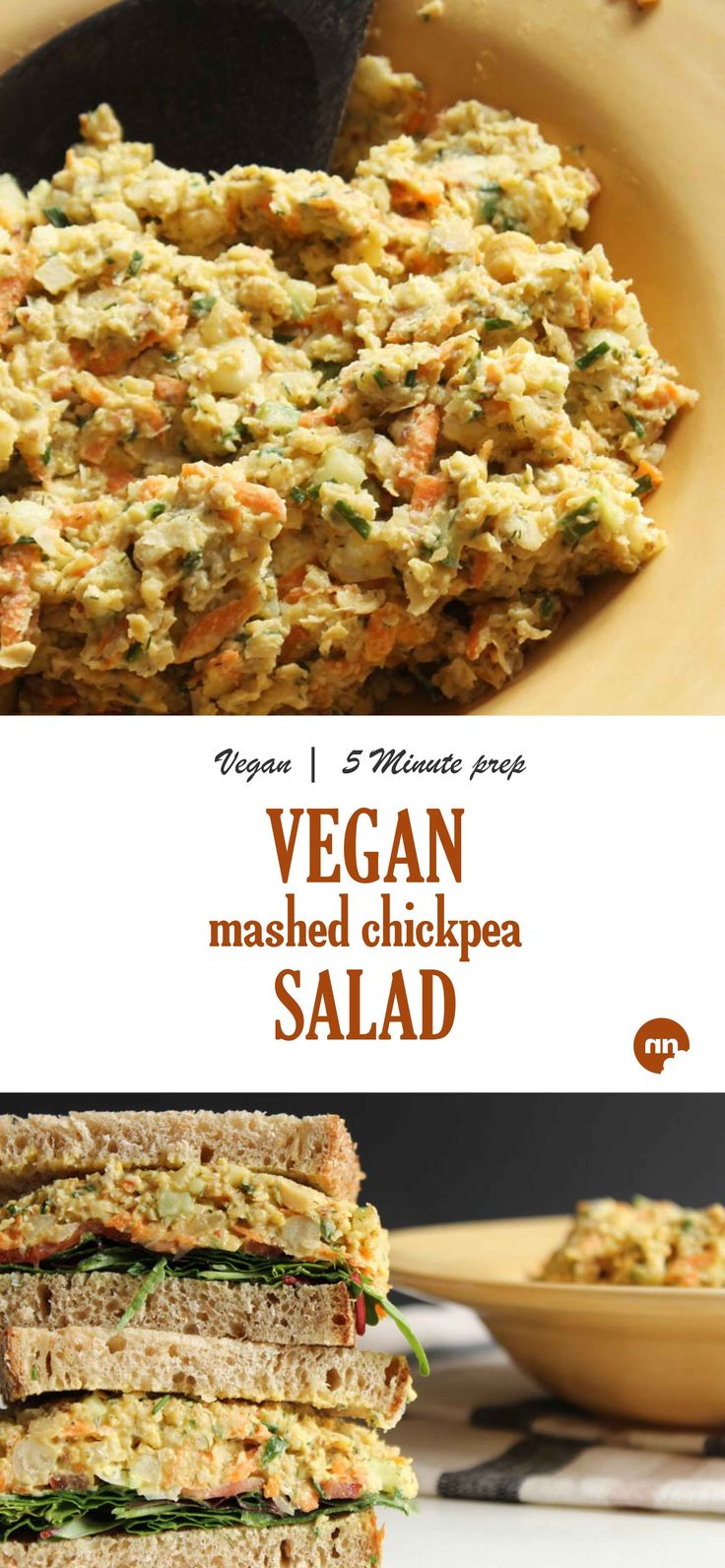 You're going to love this Mashed Chickpea Salad swap. No mayo, vegan, gluten and…