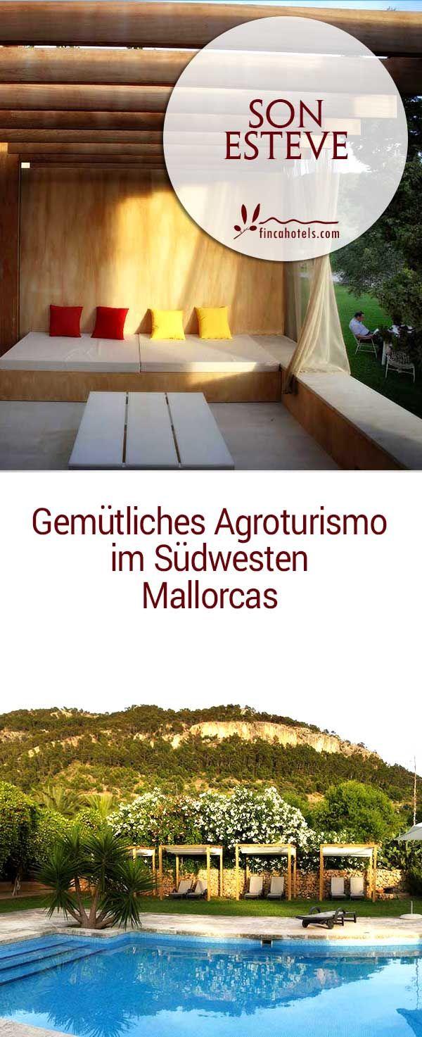 Das authentische Fincahotel Son Esteve bei Andratx im Südwesten Mallorcas bietet für jeden Geschmack und Geldbeutel passende Unterkunft