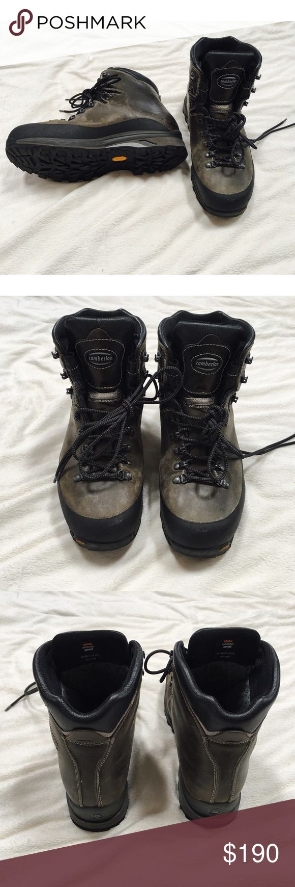 Zamberlan leather boots NWOT Leather Zamberlan boots. Warm and weather proof. Gortex soles. Message with any questions. zamberlan Shoes Boots