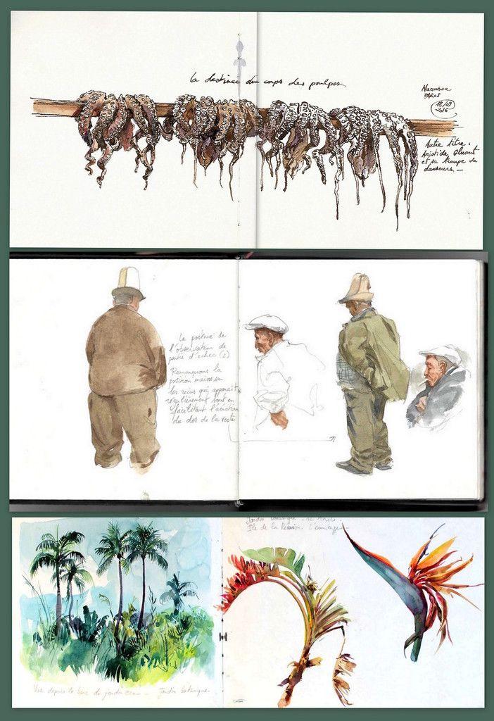 Carnets De Voyage In 2020 Art Watercolor Blog