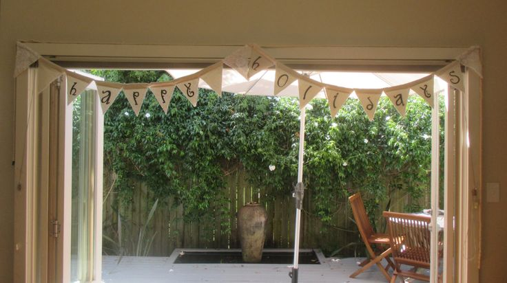 """Bunting """"Happy Holidays"""" by MooEventDesign on Etsy"""