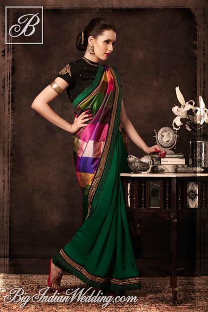 Tisha Saksena handcrafted saree