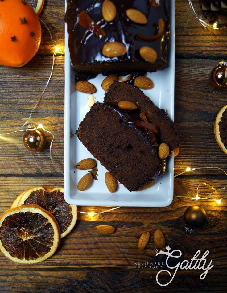 Kulinarne przygody Gatity - przepisy pełne smaku: Ciasto pomarańczowo-czekoladowe