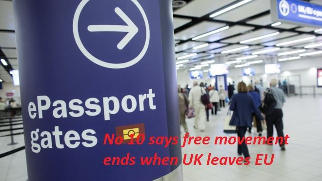 "Suggestions that freedom of movement will continue after the UK leaves the EU are wrong, Downing Street has said. On Friday, Chancellor Philip Hammond warned full controls could take ""some time"", prompting speculation free movement may continue in all but name after the UK leaves in March 2019.   #abc news #bbc news #breaking news #headline news #Latest News #local news #msnbc news #nbc news #new updates #news #news today #today news #today's headlines #todays news #top ne"
