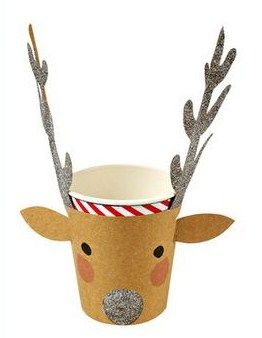 Reindeer DYI cup holder