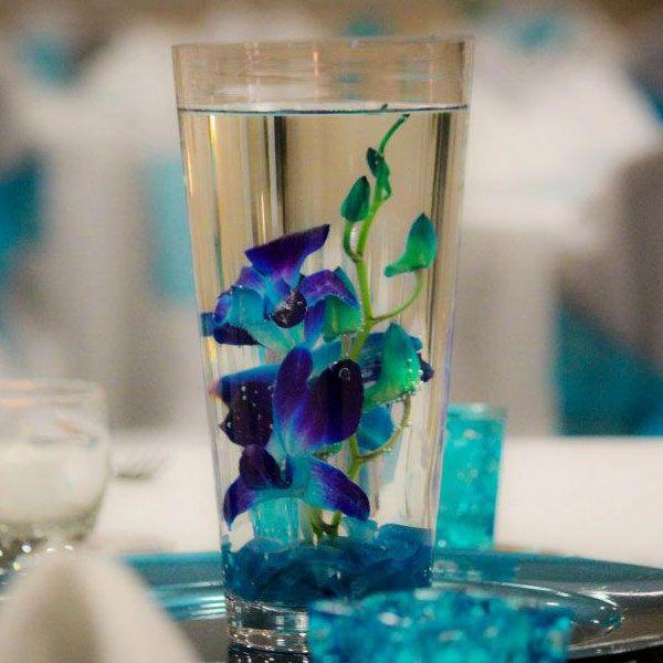Ideas about blue orchid centerpieces on pinterest