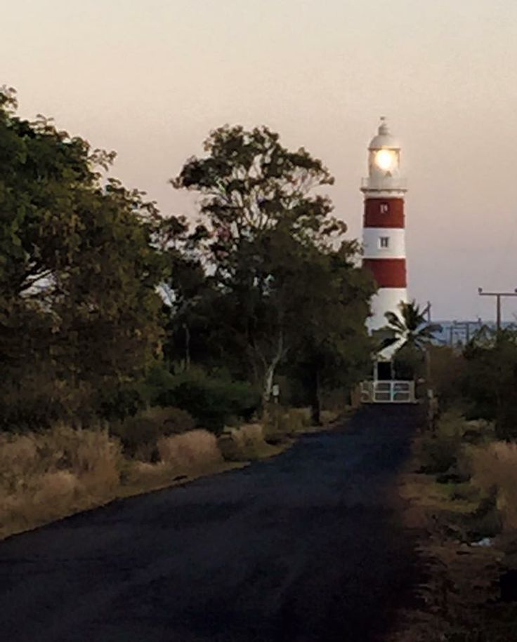 Let your light shine 💡Pointe aux caves lighthouse in Albion Mauritius on the west coast. Inaugurated in 1910 and still in use. 30m high.