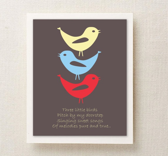 49 Best Images About Three Little Birds On Pinterest