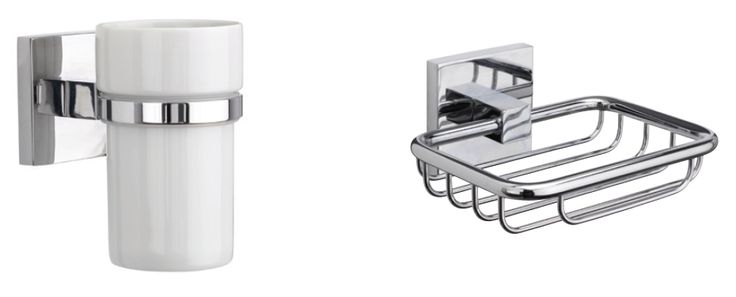 Brompton Tumbler & Holder: https://www.croydex.com/products/semi-permanent-accessories/semi-flexi-fix-wall-mounted/felxi-fix-wall-mounted-brompton/brompton-flexi-fix-tumbler-holder/646 Brompton Soap Basket: https://www.croydex.com/products/semi-permanent-accessories/semi-flexi-fix-wall-mounted/felxi-fix-wall-mounted-brompton/brompton-flexi-fix-soap-basket/650