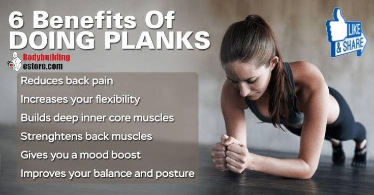 6 Benefits Of Doing Planks