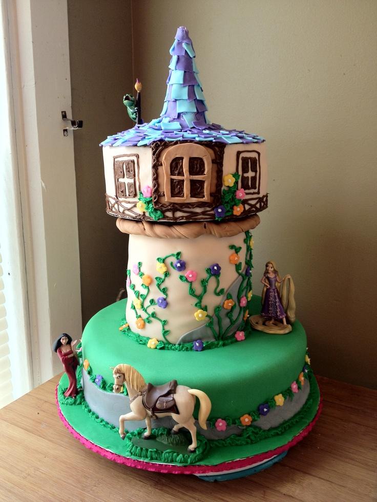 21 best Rapunzel Cake images on Pinterest Rapunzel cake ...