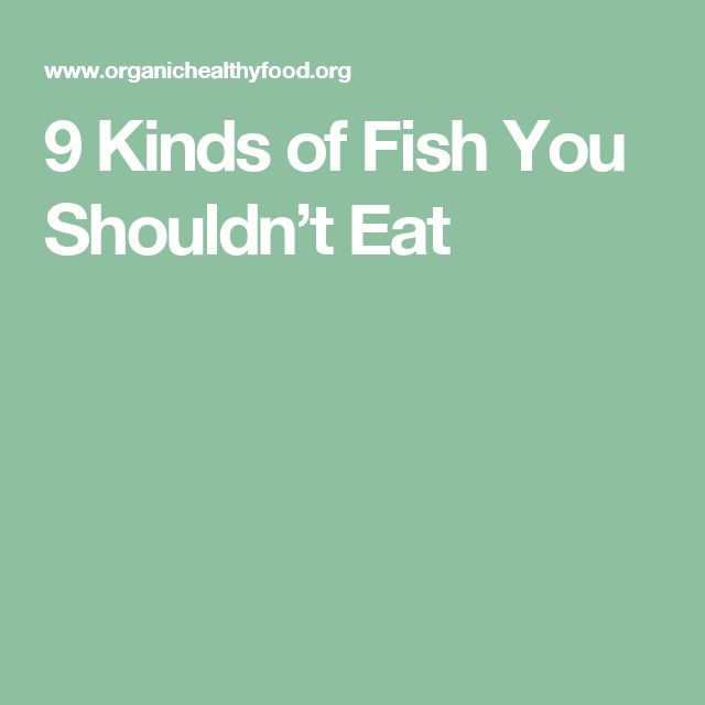 25 best ideas about types of fish on pinterest grill for Kinds of fish to eat