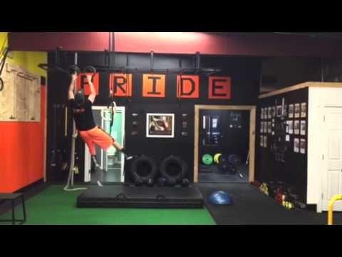 Ninja Warrior Ring Toss and Monkey Bars - YouTube