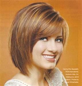 Image detail for -Very cute stylish layered bob haircut with a side bang.