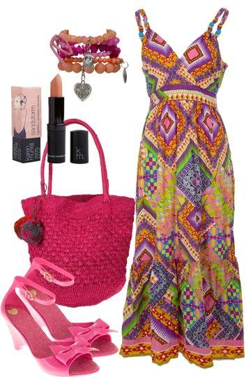 Maximum Vibrance Outfit includes Orientique, Mel, and Karen Murrell - Birdsnest Australia