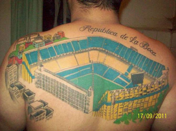 Ms de 25 ideas increbles sobre Tatuajes boca juniors en