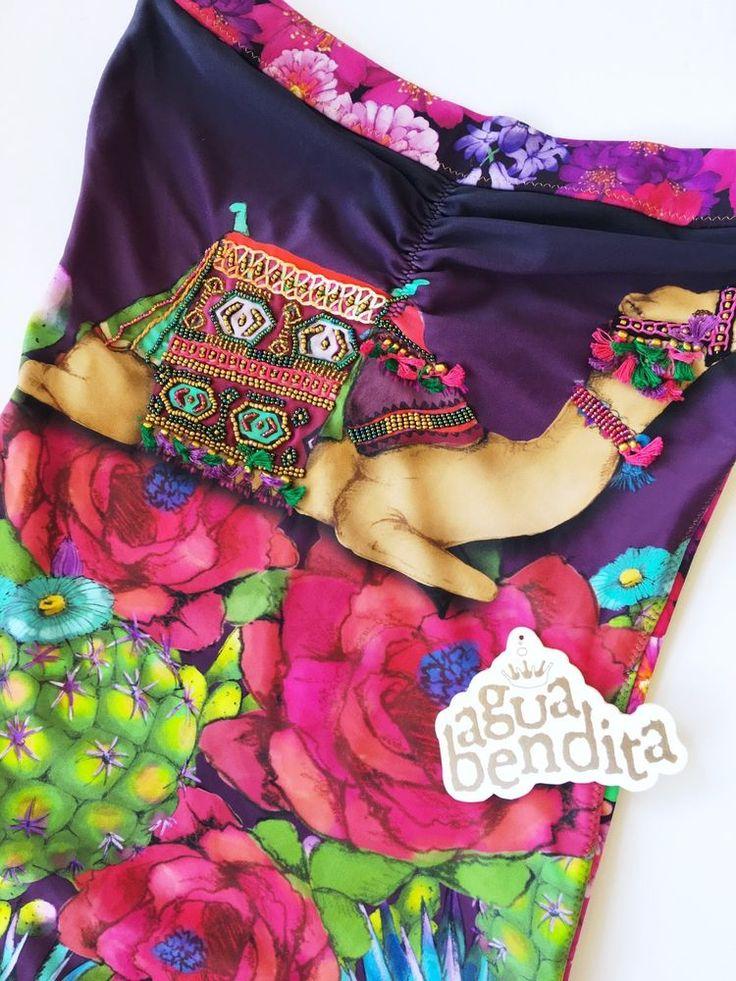 NEW Agua Bendita Swimwear one piece swimsuit Size S, M, L Bathing Suit Colombia  | eBay