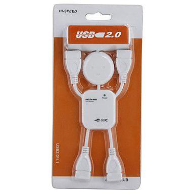 Stickman 4 Port USB 2.0 Hub – BRL R$ 7,73