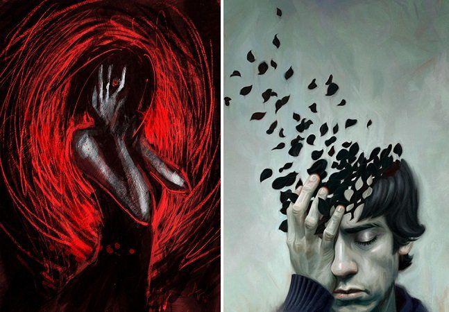 Conviver com a depressão é um desafio para muitas pessoas e pode ser completamente assustador. Mesmo assim, encarar a doença de frente e aprender a entendê-la é um dos primeiros passos a se tomar na recuperação. E quanto mais pessoas forem capazes de compreender como é conviver com depressão, mais fácil será ajudar aqueles que batalham contra este distúrbio todos os dias. Graças a isso, muitos artistas aproveitam seu talento para retratar como é viver com a doença. Pode não ser bonito, nem…