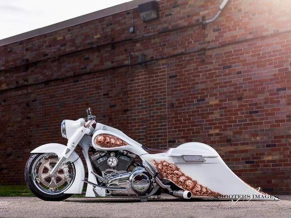 Harley Davidson Road King Customer Bagger