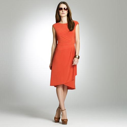 Jones New York: Dresses > Daytime Dresses > Side Drape Dress