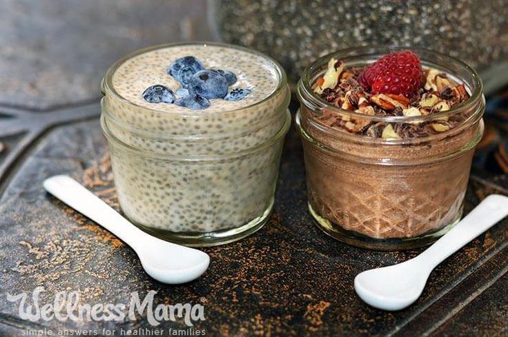 Chia Seed Pudding Recipes Chia Seed Pudding Recipe