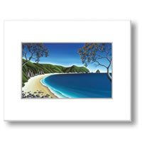 Secluded Cove, Coromandel by Diana Adams - prints