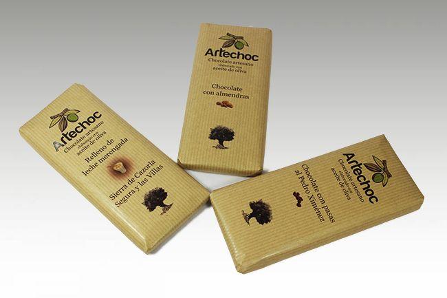 Tabletas con frutos secos Artechoc 3,50€