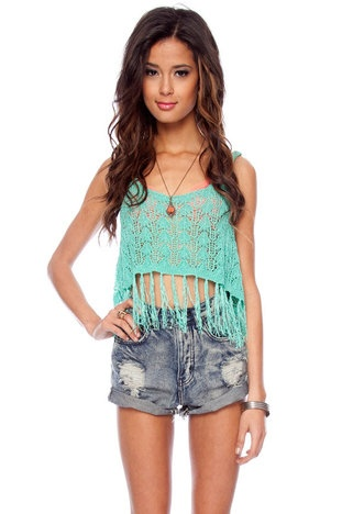 the Scoop Crochet Tank Top
