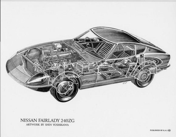 49 best images about shin yoshikawa s cutaway drawings on pinterest porsche 356 mercedes 300. Black Bedroom Furniture Sets. Home Design Ideas