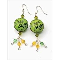 Lime Soda Earrings - Interweave Store