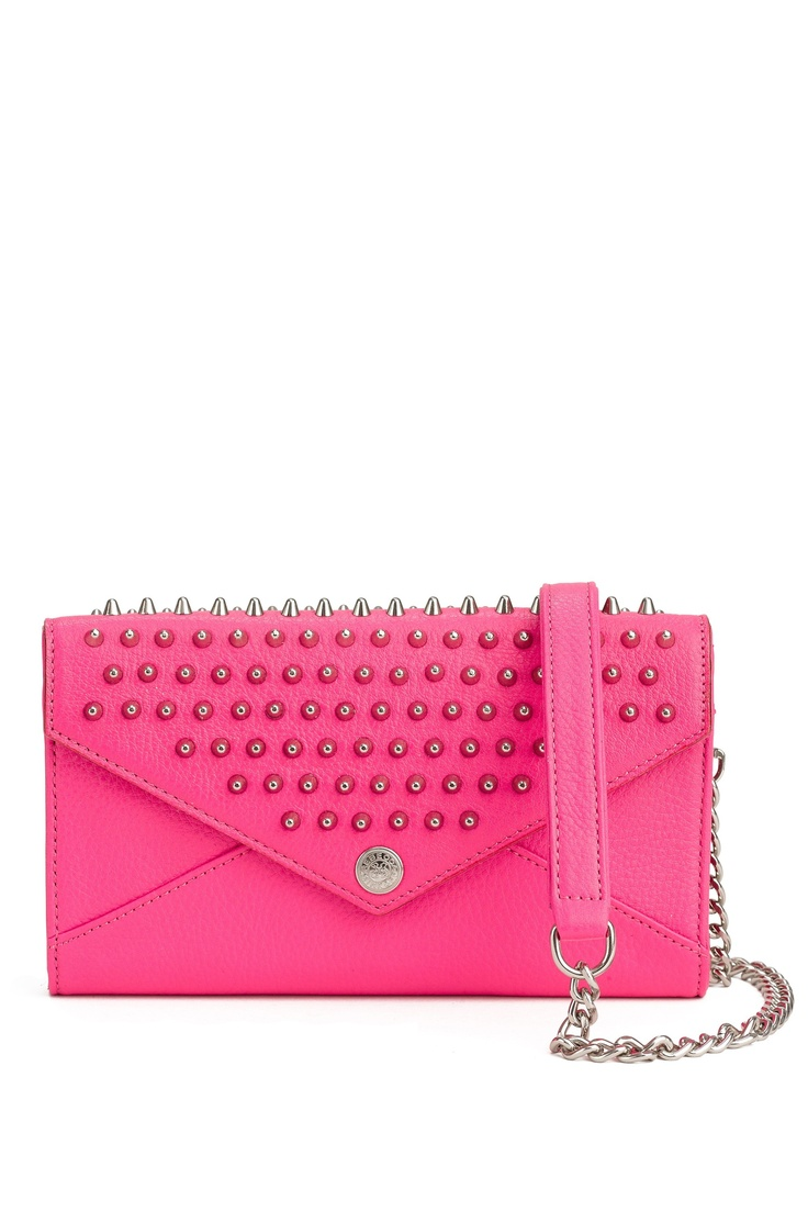 VIDA Leather Statement Clutch - Rue Sainte-Denis by VIDA