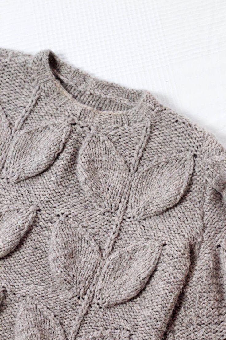 Pullover mit ausgefallenem Zopfmuster stricken à la Maison Margiela