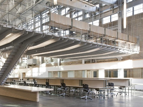 Caper Multipurpose Chairs Provide Students To Study At Georgia Institute Of Technologys Hinman Research Building