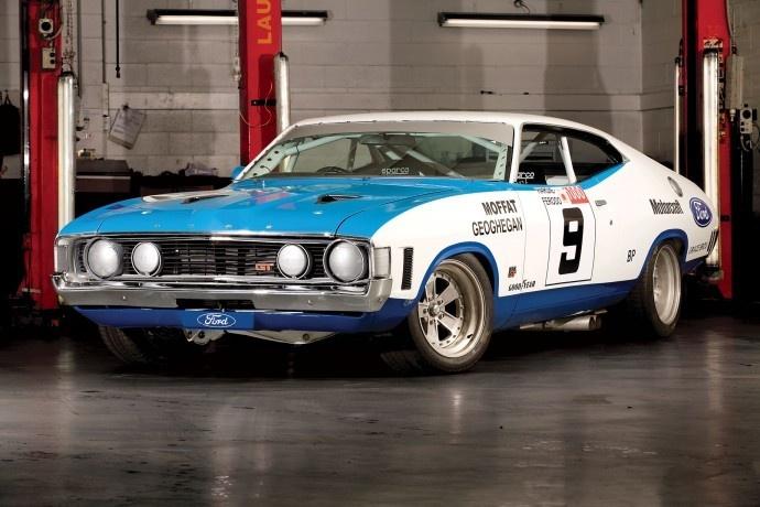 1973 Ford XA Falcon GT Hardtop. Drivers: Moffat / Geoghegan.  v@e.