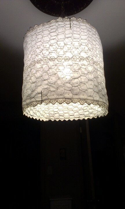 39 best art chicken wire images on pinterest craft ideas diy lamp shade chicken wire and old fabric greentooth Images