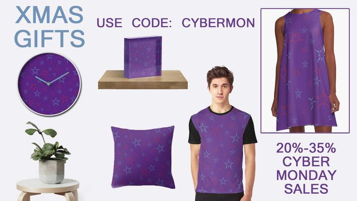 CYBER MONDAY SALES! Get 35% off Men's Classic, Tri, Longsleeve. Women's T, Vneck, Relaxed. 20% off all else USE: CYBERMON  #XmasGifts #xmasgifts #christamsgifts #homedecor #kidsroom #stars #walltapestry #mugs #totebags #kidsclothes #buykidstshirts #sales #discount #christmassales #salesgifts #buycoffeemugs #buykidsmug #milkandcookies #xmasclock #ChristmasMugs #ChristmasTotebags #homedecor #starspatterndress  #redbubble #scardesign #MerryChristmas #ChristmasShopping  #ChristmasStars…
