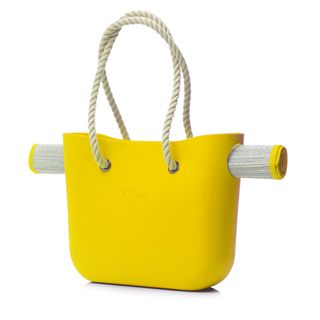O-Bag Beach | Yellow Beach Bag | Made by Fullspot | Yellow tote | birthday gift ideas | Krinkle Gifts