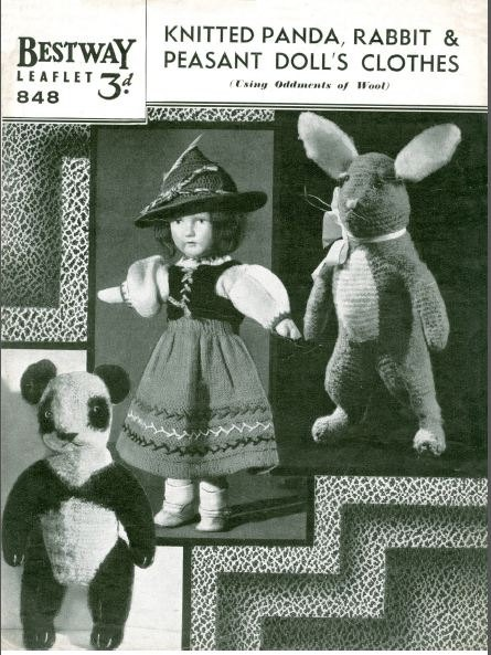 Knitting Vintage Things : Best images about vintage knitted toys on pinterest