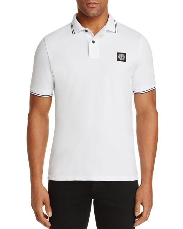 Stone Island Regular Fit Polo Shirt