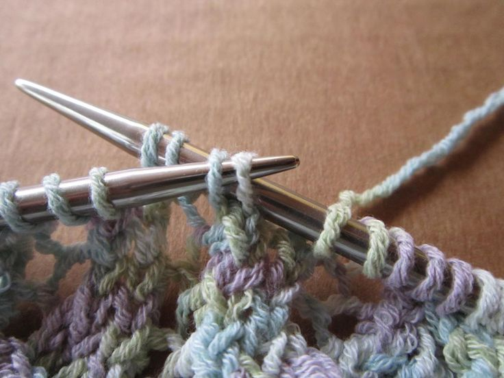 Knitting Circular Needles Without Joining : Best knitting techniques images on pinterest
