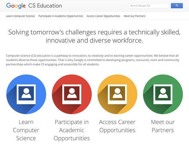 Google ha appena lanciato un nuovo sito dedicato al mondo scuola: Google Computer Science Education una collezione di risorse e applicativi gratuiti per ogni livello di scuola che a mio avviso dovr…